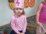 4 urodziny Zosi