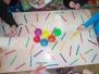 Zabawy manipulacyjne kolorami - Misie