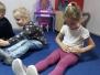 Zajączki - ćwiczenia ruchowe, masażyki