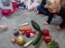 Zajączki - warzywa